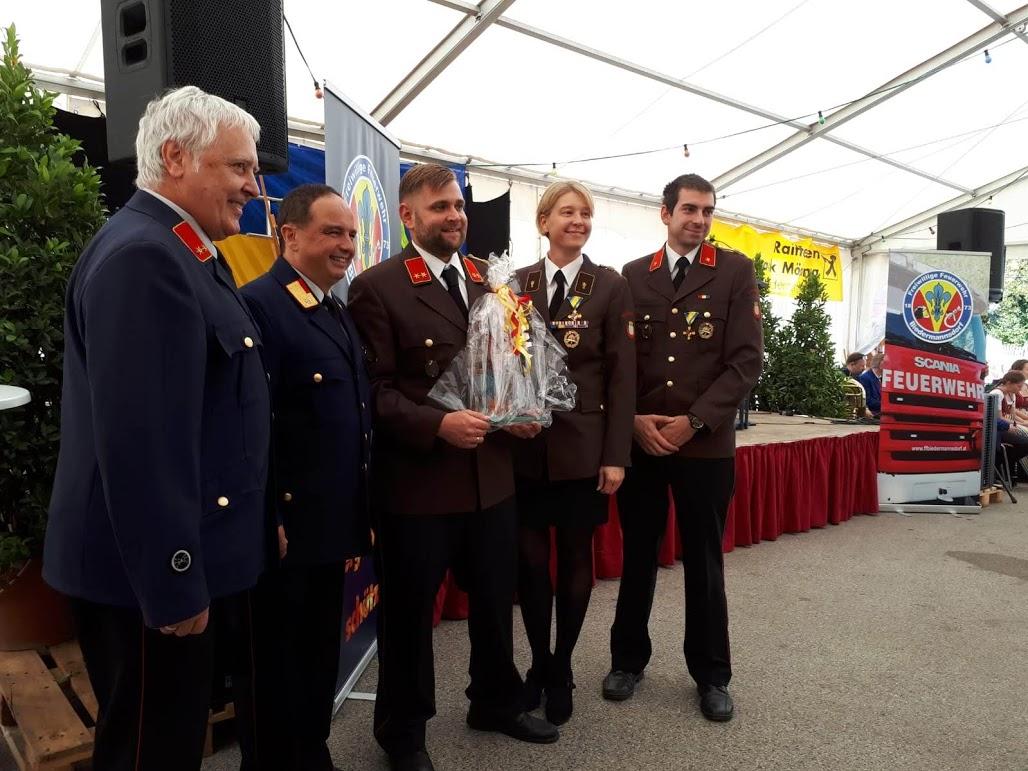 Feuerwehrfest der Partnerfeuerwehr Biedermannsdorf