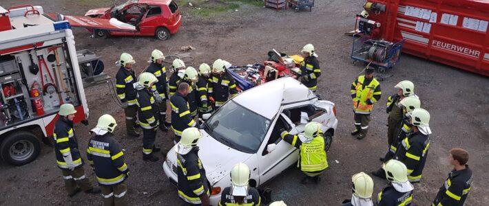Übung – Arbeitstechniken Verkehrsunfall