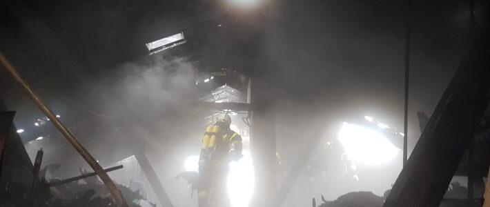 Wohnhausbrand in Schiefling