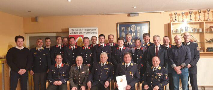 144. Jahreshauptversammlung der FF Velden