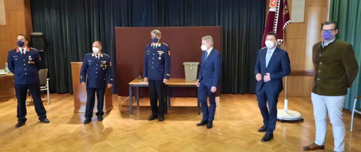 Stützpunkt – Kommandantenwahlen in Velden am Wörthersee